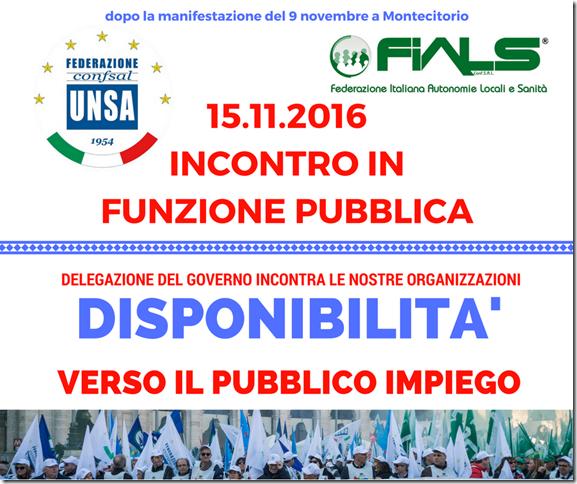 COMUNICATO 15.11.2016