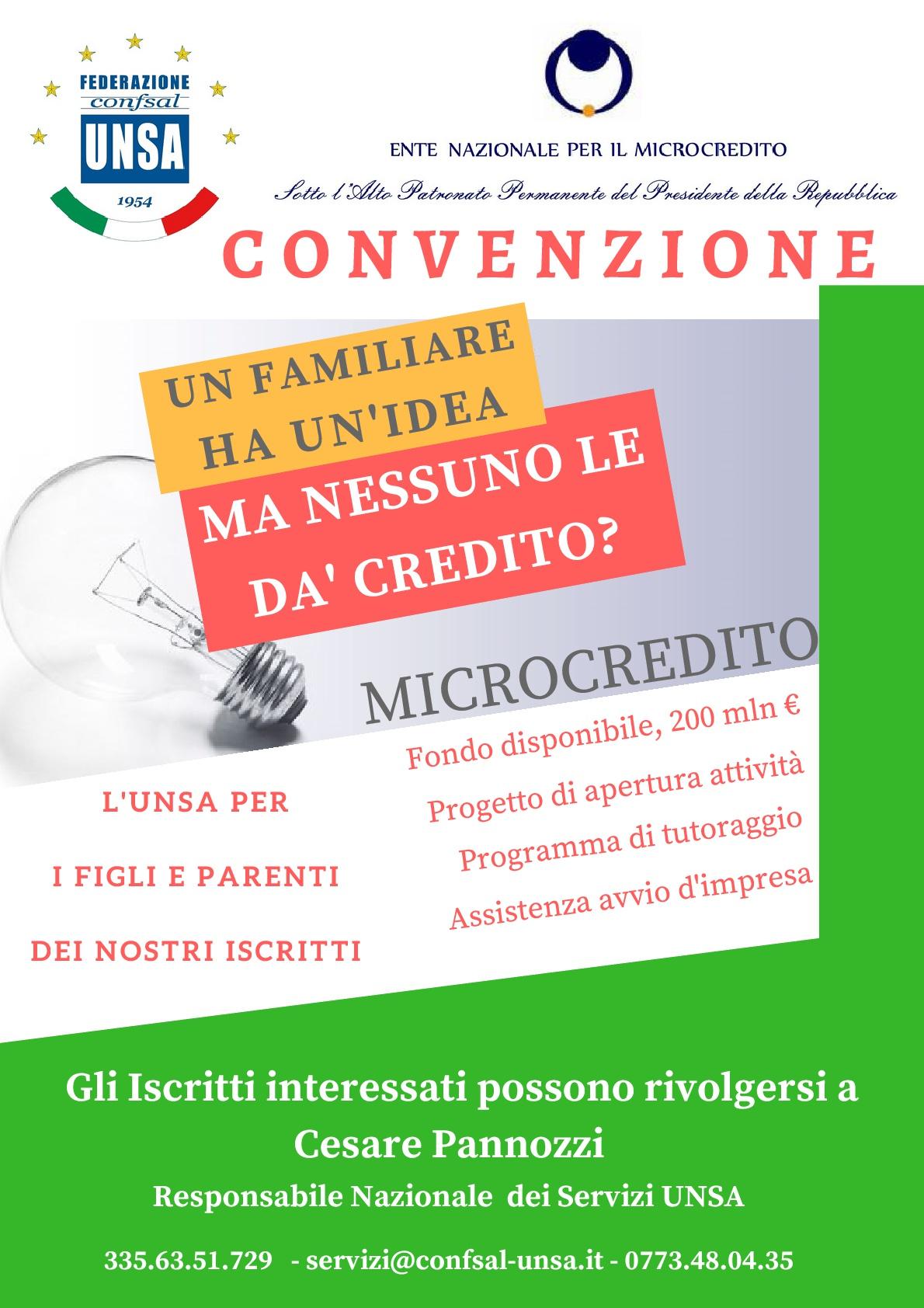 UNSA microcredito locandina-001